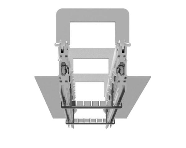 Artemide Architectural A.39 Tecessed No Trim Frame kit L=2368mm AR AT04200 Aluminium