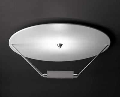 Catellani & Smith Disco plafond 160W r7s code DSN CS CS.PL.0011 Blanc / Noir
