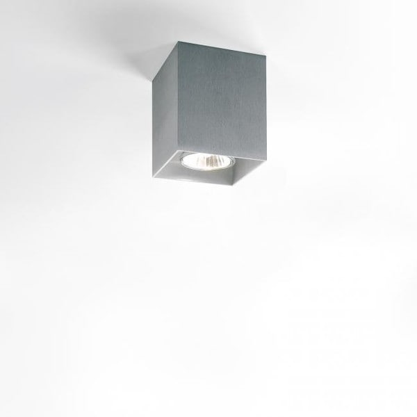 Delta Light Boxy DL 2516720ALU Gris aluminium