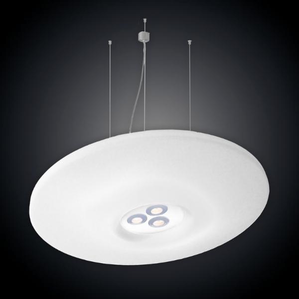 Doxis Palladium T2 4xTC-L DIM DALI DO 376.26.55 Blanc mat