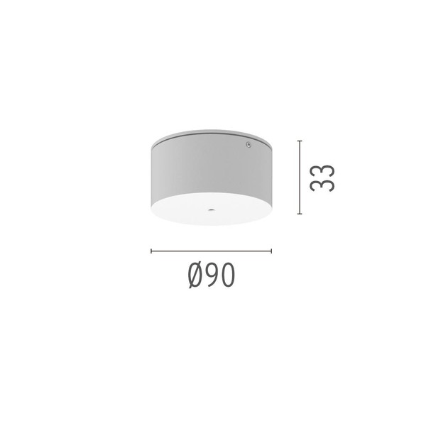 Flos Architectural Find Me Surface power supply rose AN 08.8783.06 Chrome