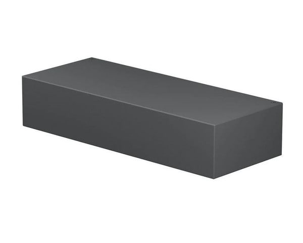 Flos Mile Wall 2 Washer Down Dali FL F015E42D033 Anthracite