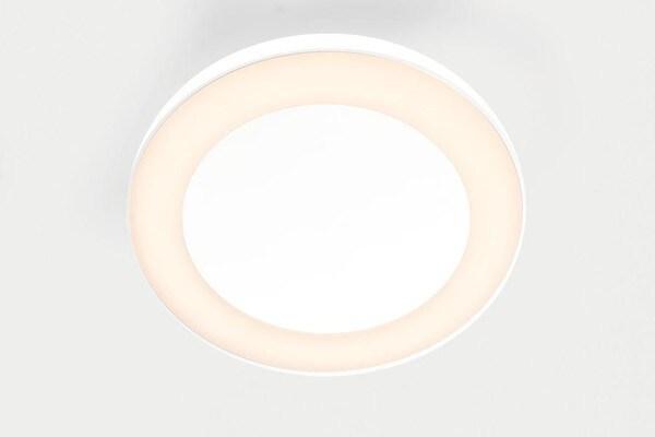 Modular Lighting Flat Moon Eclips 650 Ceiling Down LED Dali/pushdim GI MO 13362409 Blanc structuré