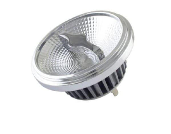Perluci Source de lumière LED G53 (AR111) 15W 350mA 700lm dim SE PLC-50717 Argent