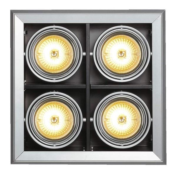 SLV Aixlight MOD 4 QRB111 DM 154042 Gris argenté / Noir